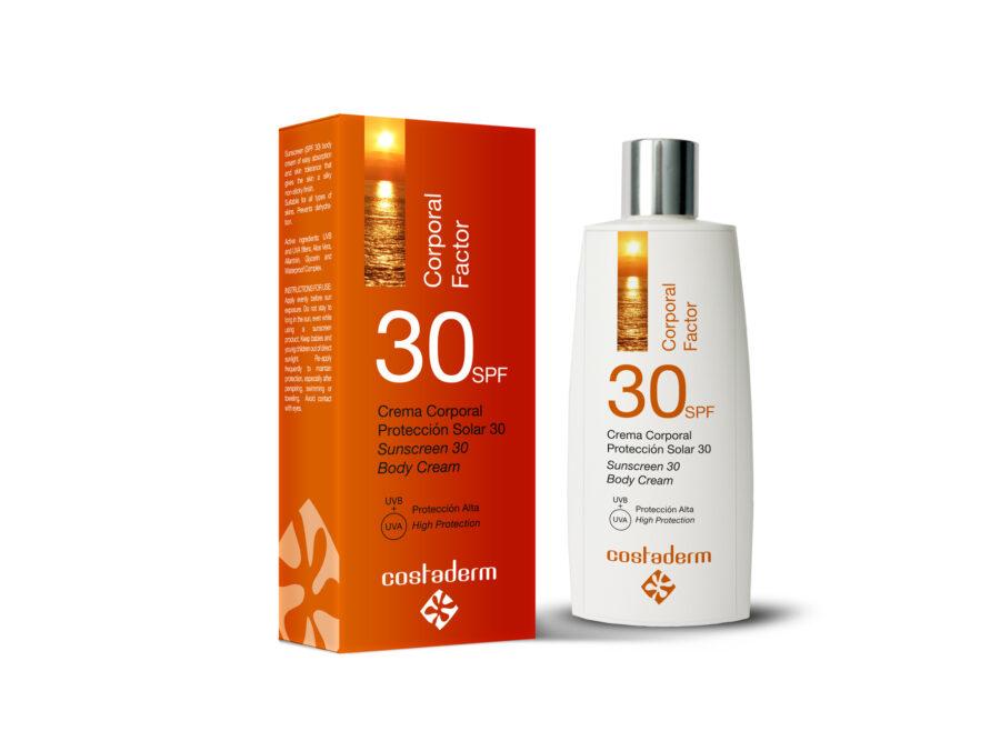 costaderm proteccion solar 30