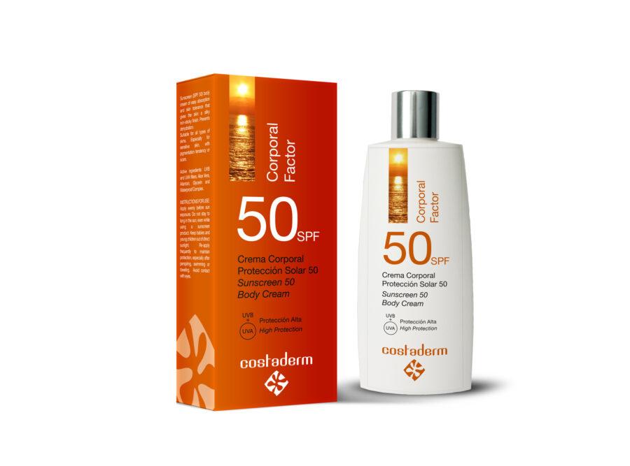 costaderm proteccion solar 50