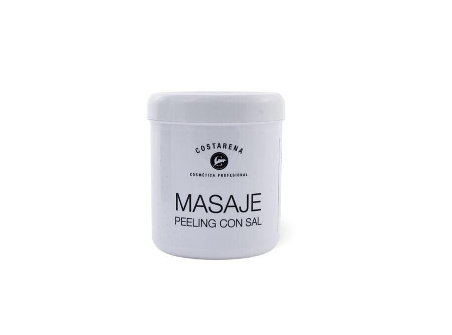 masaje peeling con sal costarena
